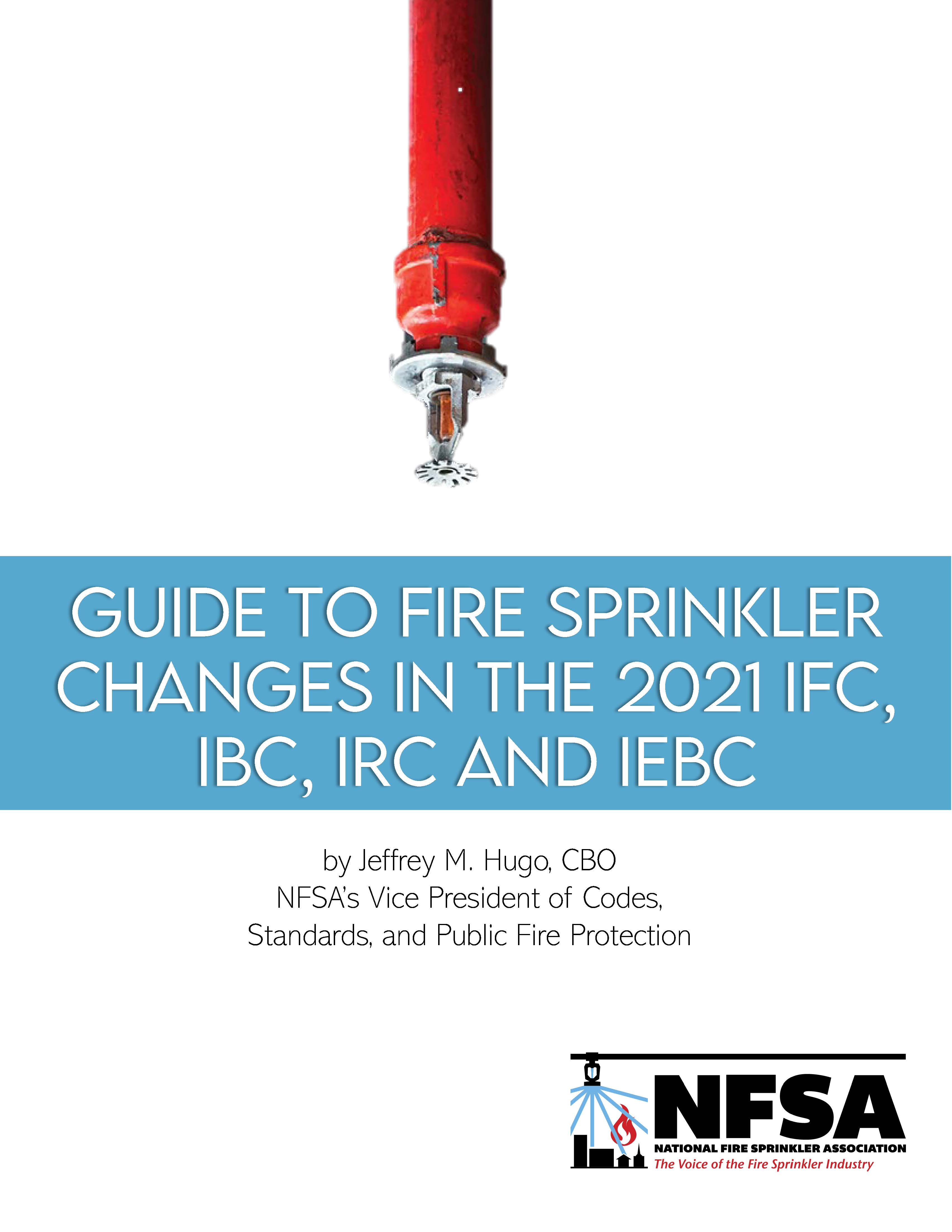 NFSA Guide, Automatic Sprinkler Systems (ICC2021)