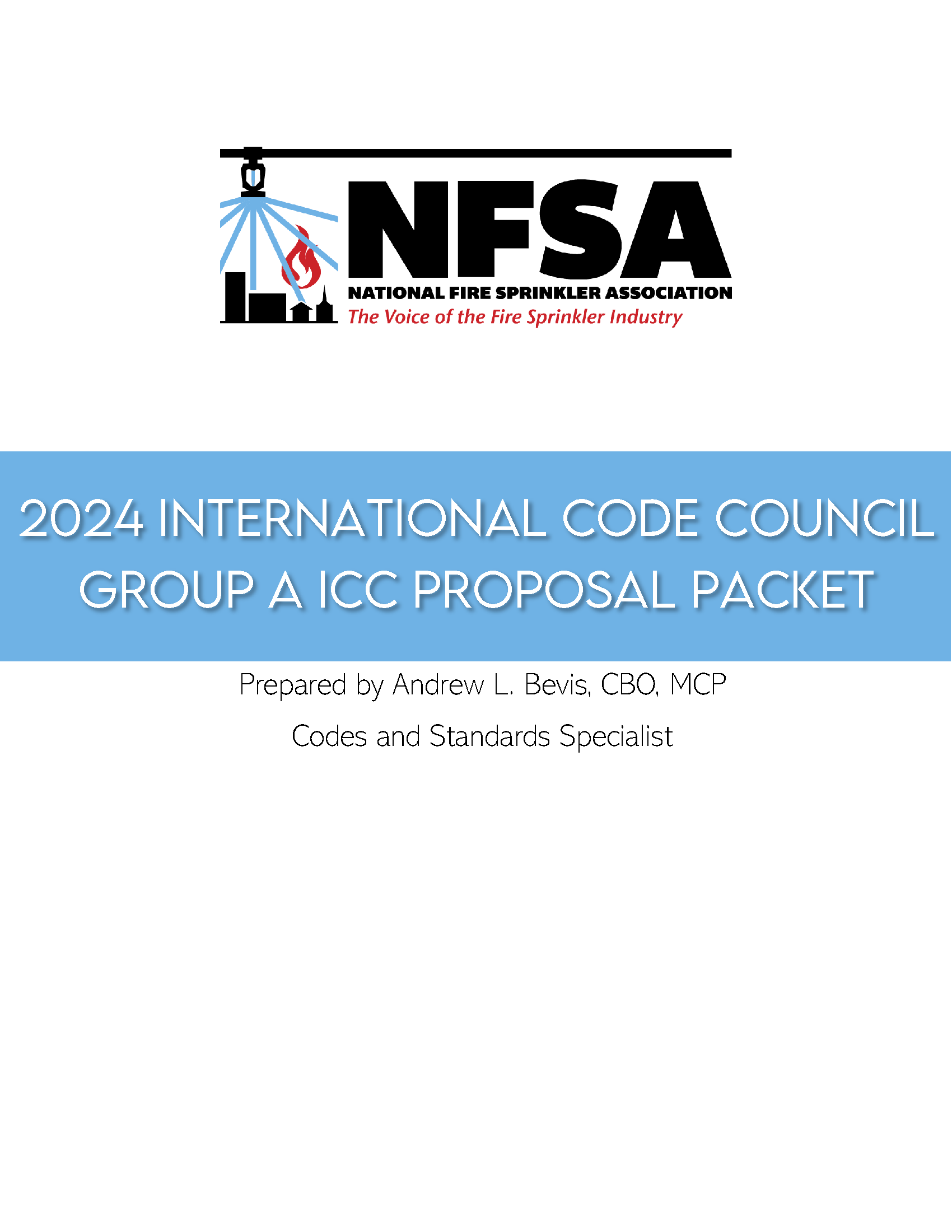 2024 Group A ICC Proposal Packet