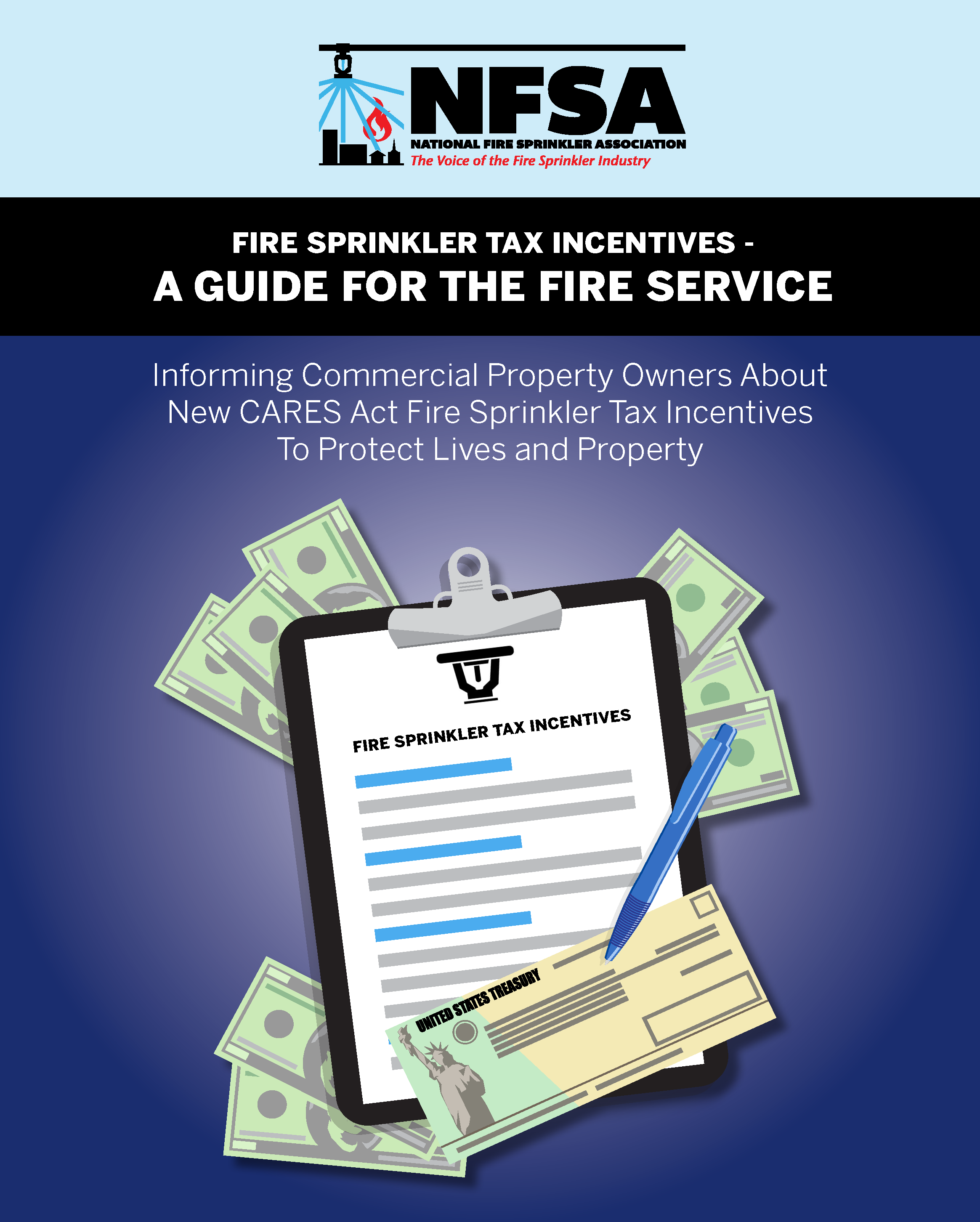 NFSA Guide, Fire Sprinkler Tax Incentives 2020