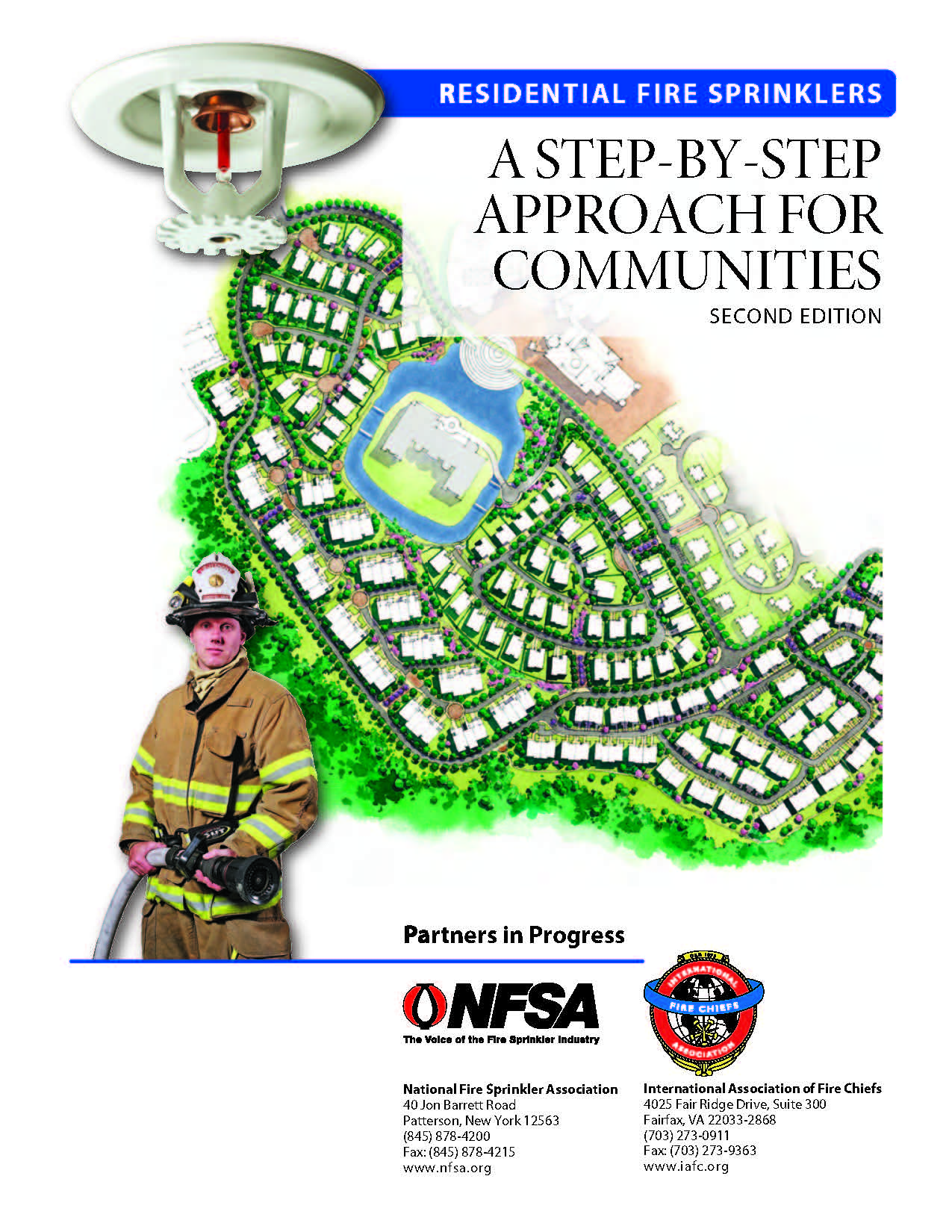 NFSA/IAFC Guide - Residential Fire Sprinklers: A Step by Step Approach for Communities